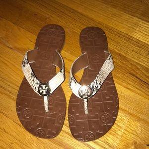 ffafbdb26f04c1 Tory Burch Shoes - Tory Burch Thora Python Sandals
